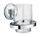 Стакан для зубных щеток стеклянный Wasserkraft RheinK-6228
