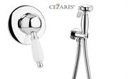 Гигиенический душ со встраиваемым смесителем Cezares ELITE-DIM-01-Bi