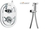 Гигиенический душ со встраиваемым термостатом CEZARES ELITE-VDIM2-T-01-Bi