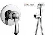 Гигиенический душ со встраиваемым смесителем CEZARES LIRA-DIM-01