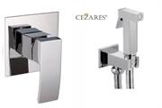 Гигиенический душ со встраиваемым смесителем CEZARES QUATTRO-DI-01 хром
