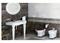 Раковина подвесная с консолью VITRA Efes  6209B003-0001/6210B003-0156 - фото 154082